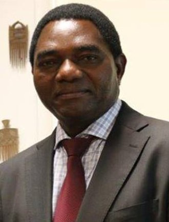 2006 Zambian general election - Image: Hakainde Hichilema 2014