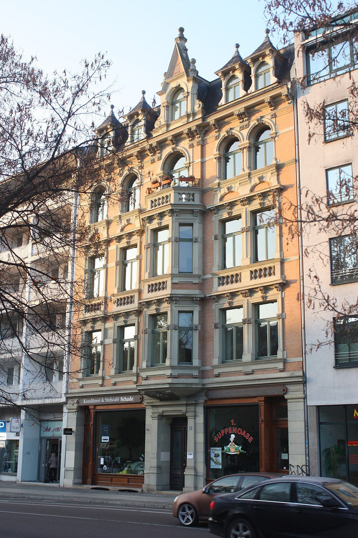 Haus Mieten Halle Saale : file halle saale haus hansering 11 caf schade jpg wikimedia commons ~ Watch28wear.com Haus und Dekorationen