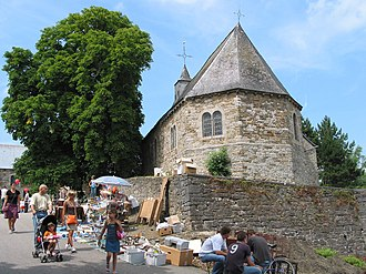 Hamois - St. Agathe d'Hubinne chapel (13th - 17th centuries)