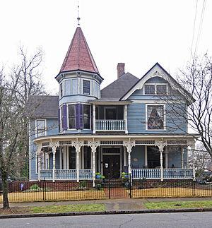 Hampton–Pinckney Historic District - J. M. Geer House, Hampton–Pinckney Historic District, March 2012