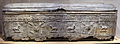 Hanawé (presso tiro), sarcofago a decoro architettonico, vegetale e figurato, piombo molato, II-III sec. 01.JPG