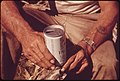 Hands of a Leakey, Texas, Resident Holding a Can of Beer, near San Antonio, 05-1973 (3704381106).jpg
