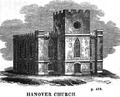 HanoverChurch Snow HistoryOfBoston 1828.png