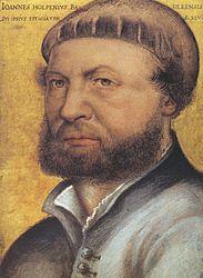 Hans Holbein: Self-portrait