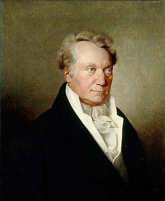 Paul Usteri - Paul Usteri (c.1820), portrait by Hans Jakob Oeri