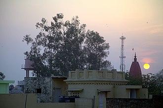 Shamli - Hanuman tilla in Shamli