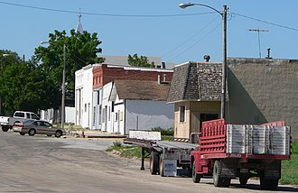 Hardy, Nebraska - Downtown Hardy