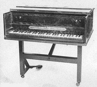 Kirkman (harpsichord makers) - 1781 harpsichord constructed by Abraham and Jacob Kirkman