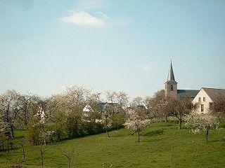 Hesbaye natural area in Belgium