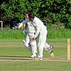Hatfield Heath CC v. Netteswell CC on Hatfield Heath village green, Essex, England 28.jpg