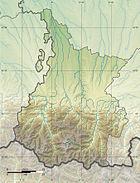 Hautes-Pyrénées department relief location map.jpg