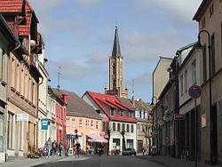 Havel-Kirchturm mit Brandenburger Strasse.JPG