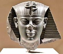 Глава Амасиса II, ок.  550 г. до н. Э.