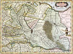 The Lordship of Utrecht in the early 17th century.