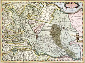 Lordship of Utrecht - The Lordship of Utrecht in the early 17th century.