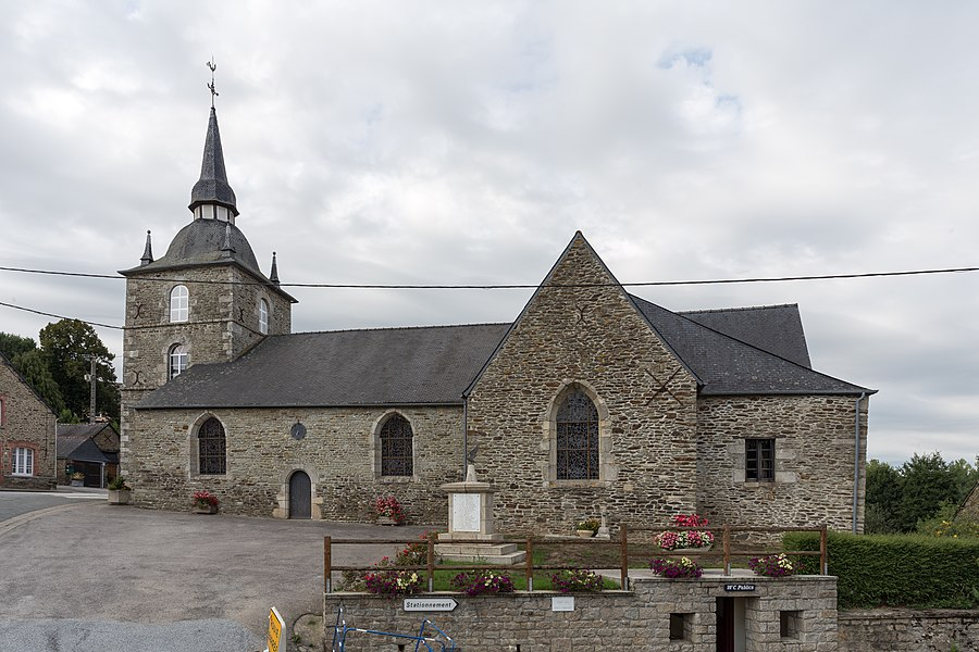 Église Saint-Samson d'Helléan.