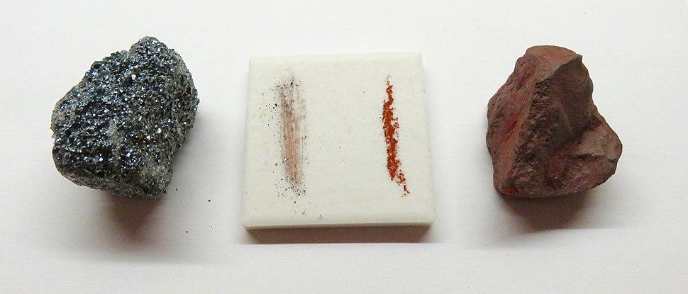 Hematite streak plate