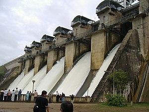 Hemavati River - Hemavati dam in Gorur