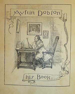 Henry Austin Dobson - His bookplate