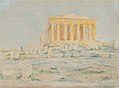 Henry Bacon - The Parthenon, West Facade - 1927.5.3 - Smithsonian American Art Museum.jpg
