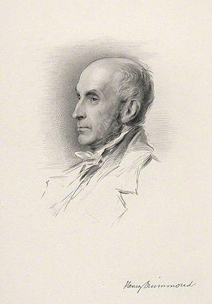 Henry Drummond (1786–1860) - Henry Drummond, 1857 engraving