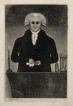 Henry Moyes - Henry Moyes. Etching by John Kay (1796)