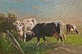 Henry Schouten - Zomerlandschap met koeien.JPG