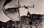Henry Wellcome's photographic automatic kite trolley aerial camera deivce used at Jebel Moya, Sudan, 1912-1913. Unknown photographer. The Wellcome Collection, London.jpg