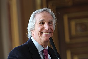 Henry Winkler - Winkler speaking at the Foreign Office in London, England on 5 March 2013
