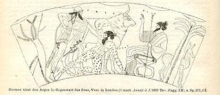 Argus Panoptes giant in Greek mythology