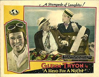 <i>A Hero for a Night</i> 1927 film by William James Craft