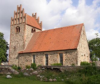Fieldstone church - Image: Herzberg church