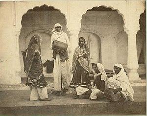 Hijra Indian entertainers (c. 1865).jpg