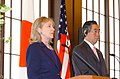 Hillary Rodham Clinton and Takeaki Matsumoto 2 20110417.jpg