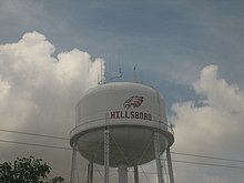 Hillsboro, TX, water tower IMG 1683.JPG
