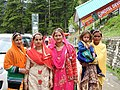 Himachali Women Folk wearing traditional garments and ornaments.jpg
