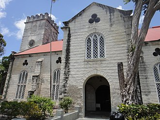 Cathedral Church of Saint Michael and All Angels - Image: Historic Bridgetown and its Garrison 115165