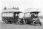 Hobart Electric Tramway Company Daimler buses (11620950486).jpg