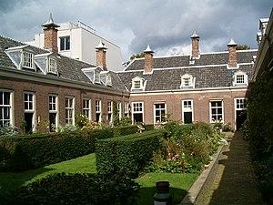 Hofje van Noblet - The Hofje van Noblet.