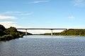 Hohenhörn, Autobahnbrücke über den Nord-Ostsee-Kanal NIK 2573.JPG