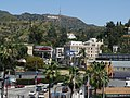 Hollywood hills with Hollywood sign - panoramio.jpg