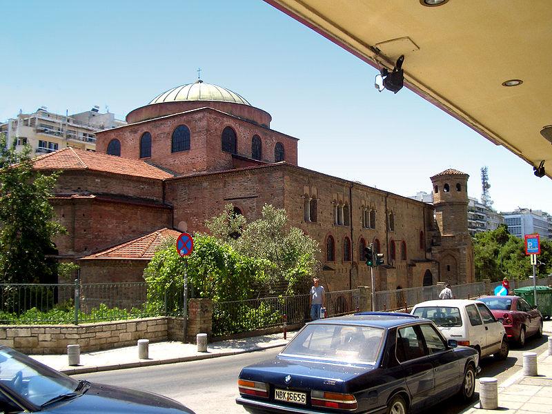 Византијаска архитектура 800px-Holy_Wisdom_Salonica_3