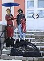 Holzskulpturen am alten Rathaus in Neuwürschnitz, Sachsen 2H1A7135WI.jpg