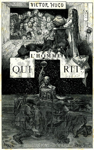 Иллюстрация Даниеля Вирга во французском издании романа «Человек, который смеётся» (1876)