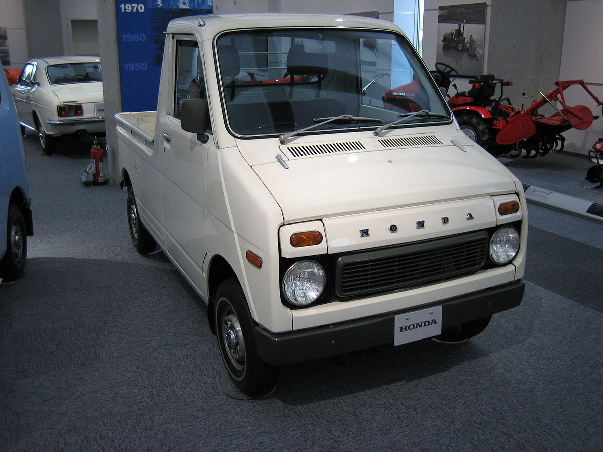 Step Van For Sale >> ホンダ・ライフピックアップ - Wikipedia