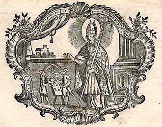 Honoratus of Amiens - Image: Honoratus Amiens