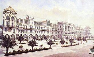 Hotel Internacional (Barcelona) - Gran Hotel Internacional appeared in the press in 1888