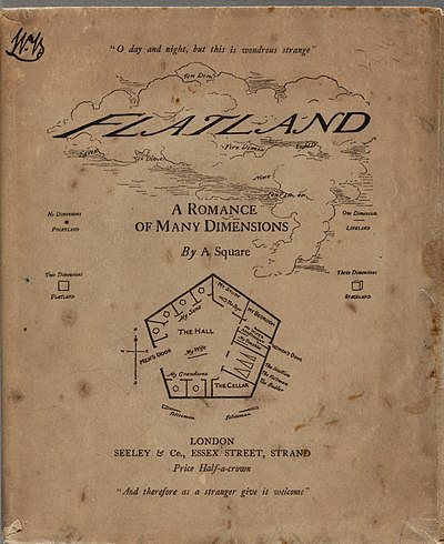 Picture of a book: Flatland