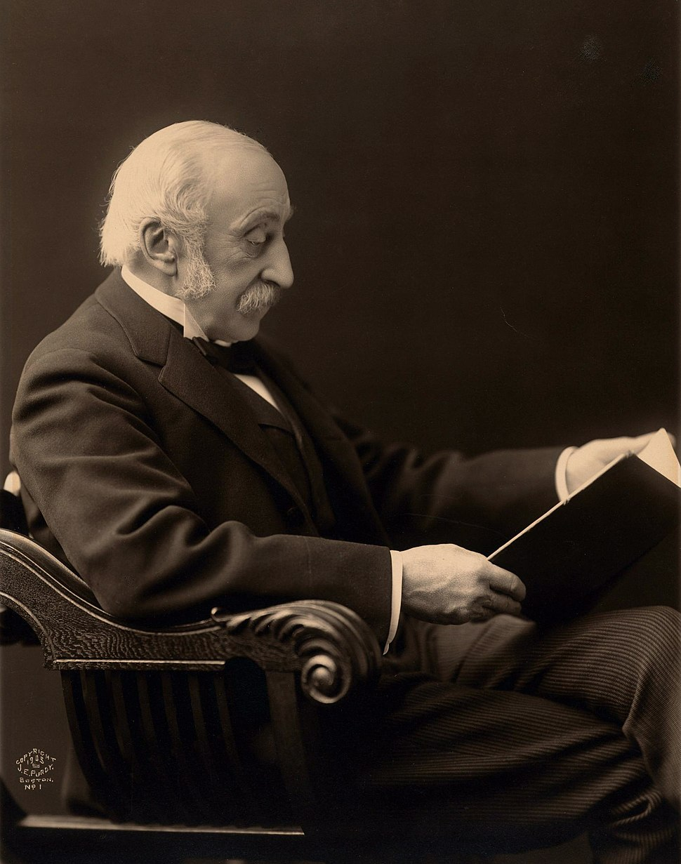 Houghton Portrait File - Charles Eliot Norton