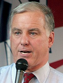 Howard Dean speaking at DNC event